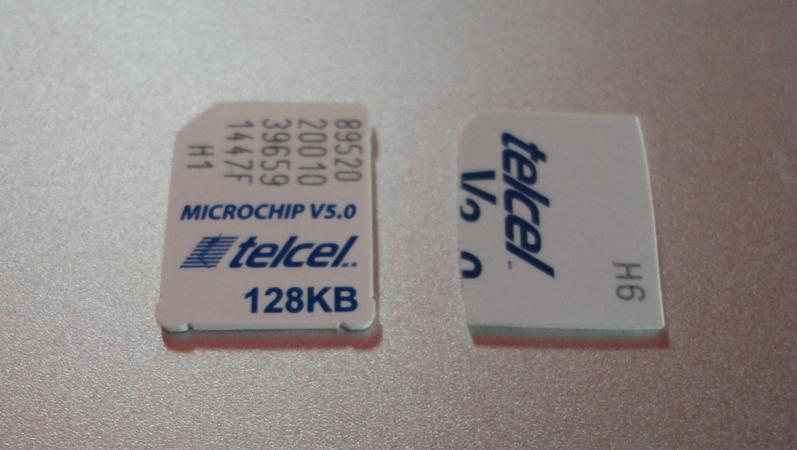 MicroSIM Telcel