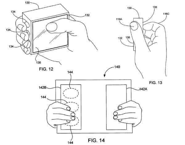 patente Apple manos