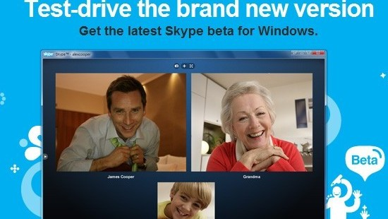 skype beta 5.0
