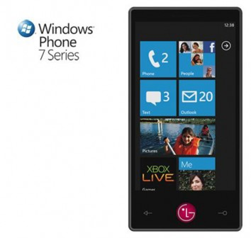 smarthphone con windows 7 mobile