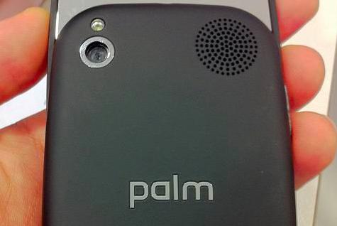 Palm Pre 2 cámara