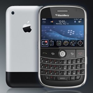 blackberry iphone