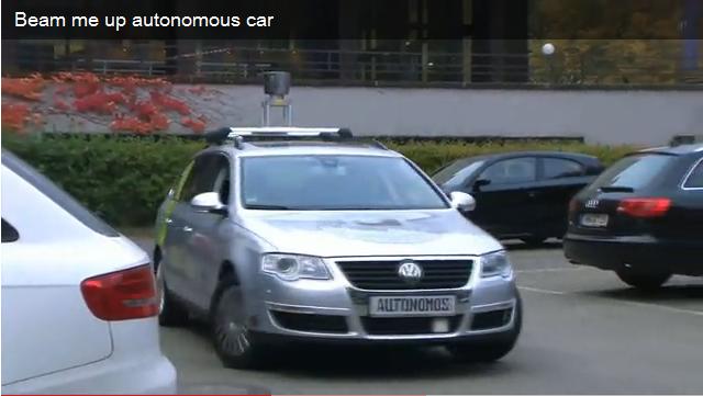 taxi sin conductor autonomo