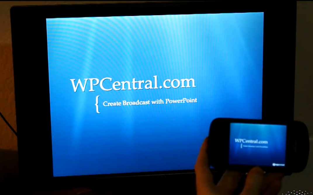 Powerpoint a WP7