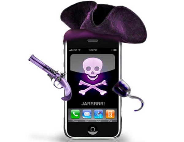 iPhone Pirata