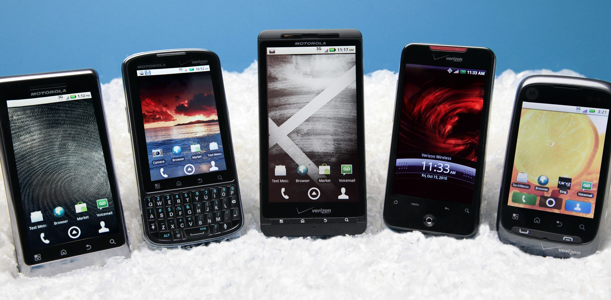 Android Smartphones 2010