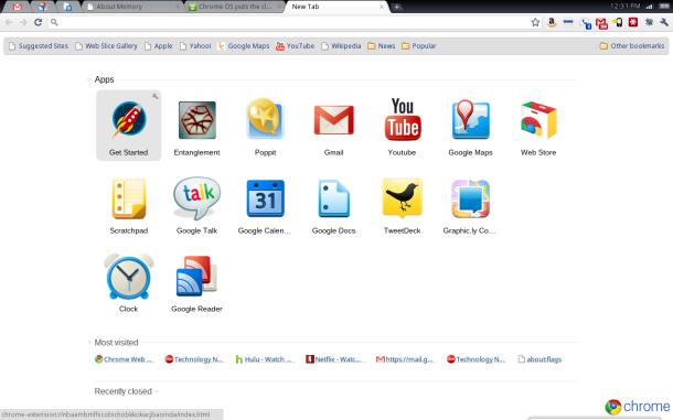 Chrome Os An 225 Lisis Y La Netbook Cr 48 De Google