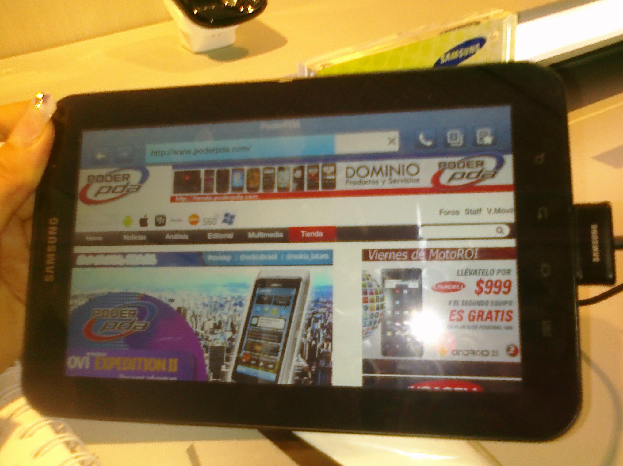Samsung Galaxy Tab Telcel