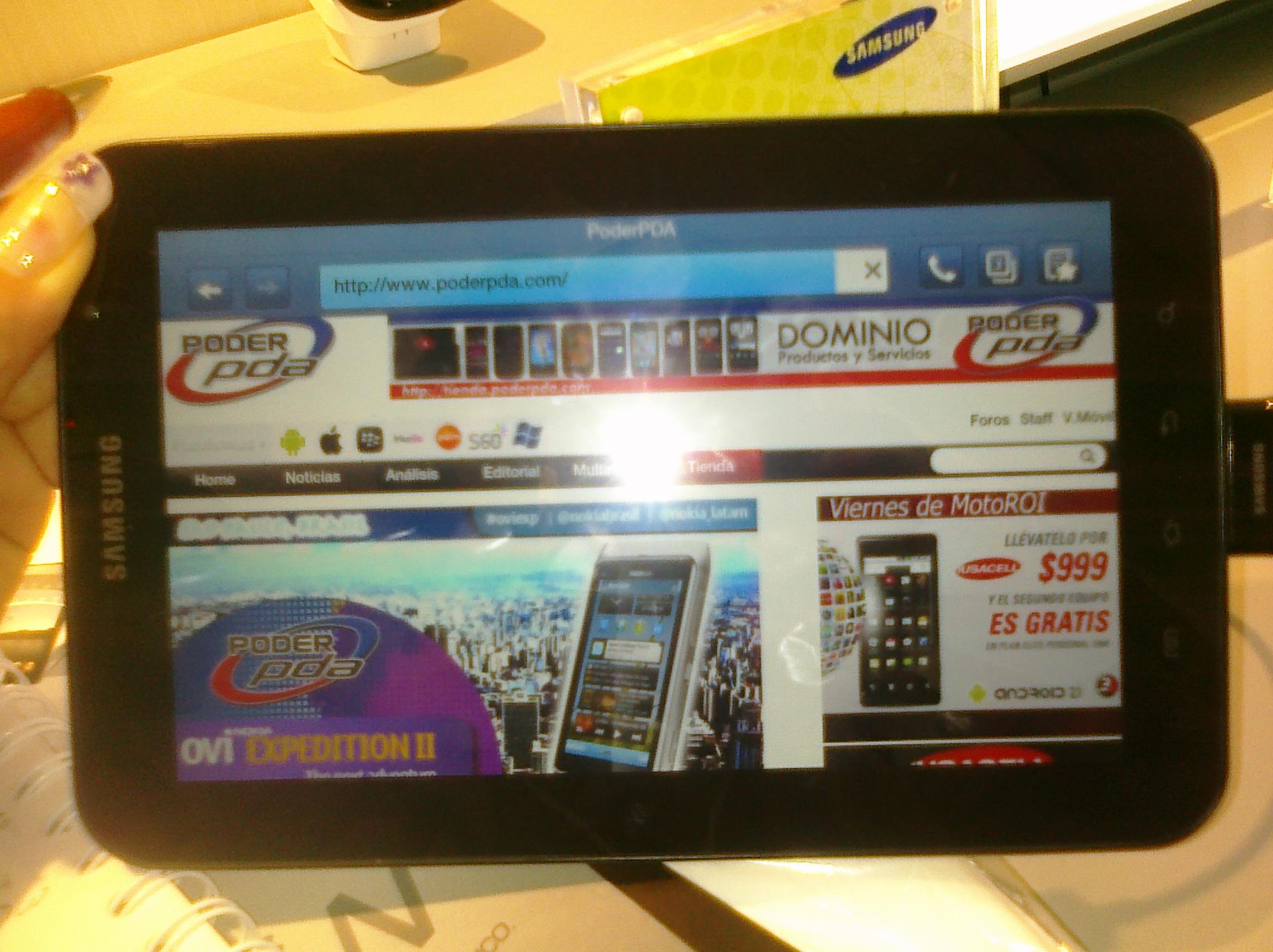 Samsung Galaxy Tab Telcel4