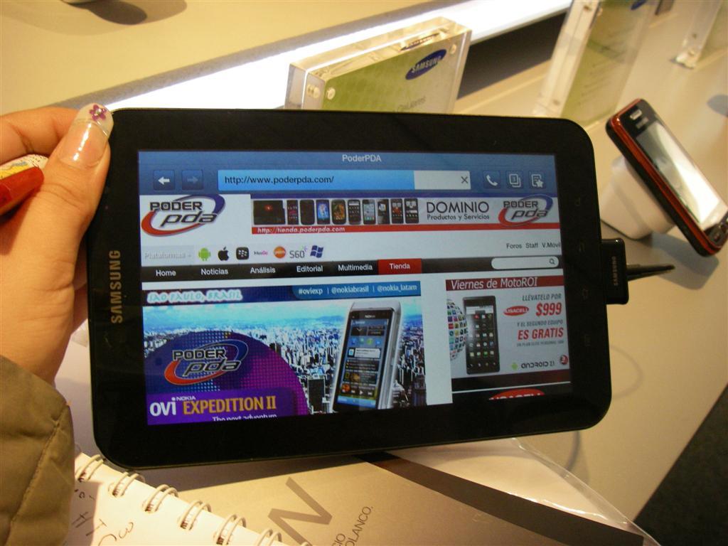Samsung Galaxy Tab Telcel5