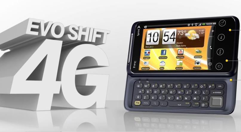 EVO Shift 4G