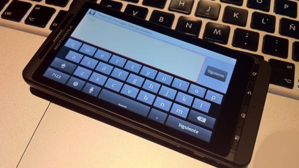GingerBread Keyboard Droid X