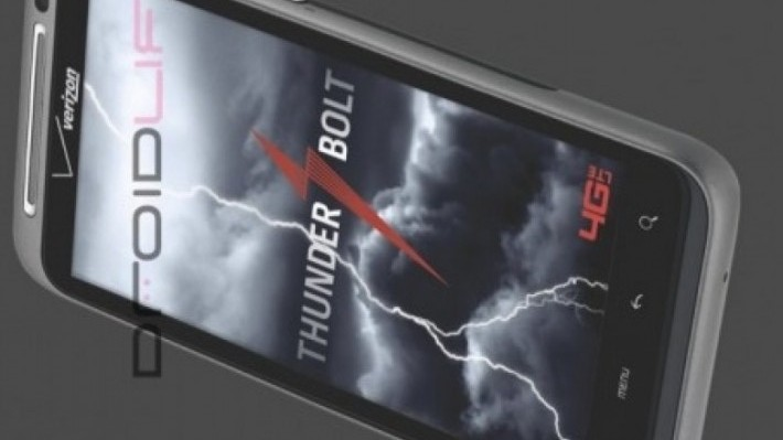 HTC thunderbolt LTE 4G