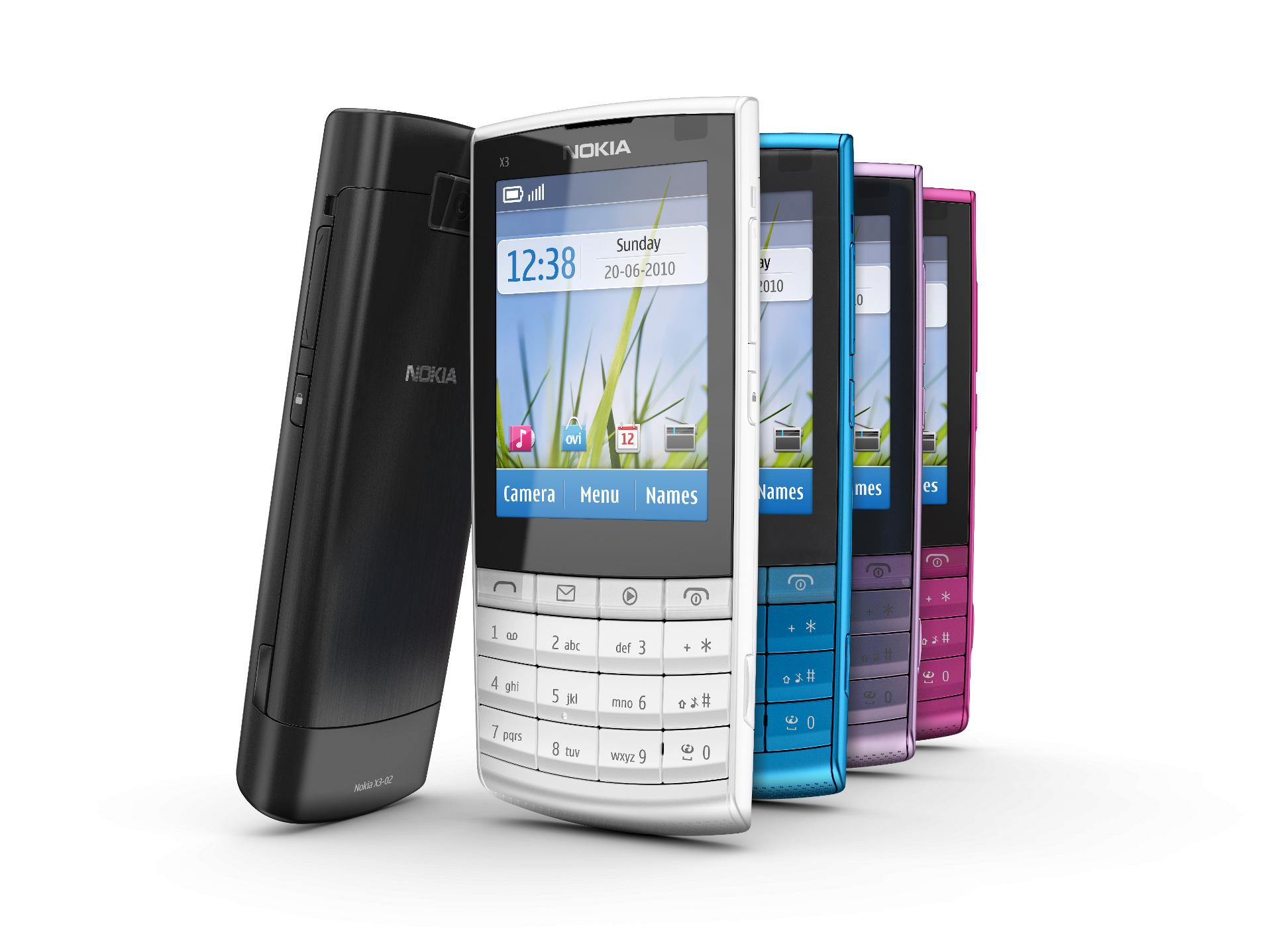 Nokia X3 Touch & Type (T&T) en México