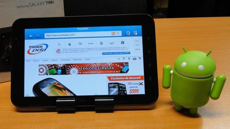 Samsung Galaxy Tab PoderPDA II