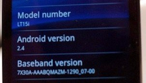 android 2.4 xperia arc