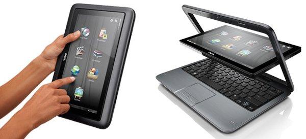 Dell Inspiron Duo, Laptop/NetBook Transformable en Tablet ...