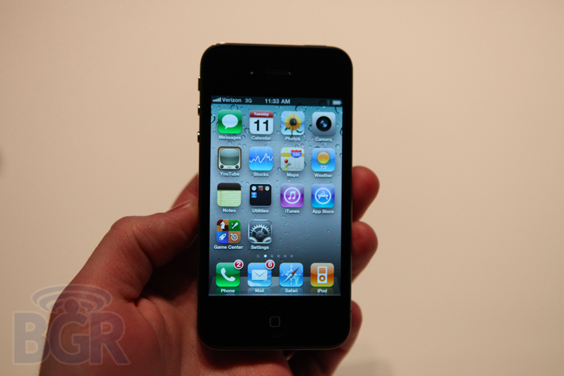 iPhone 4 CDMA BGR Pic