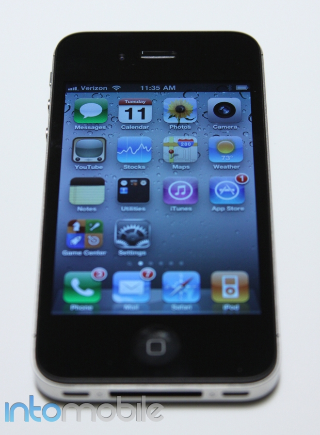 iPhone 4 CDMA Intomobile Pic
