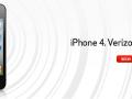 iPhone 4 Verizon HomePage
