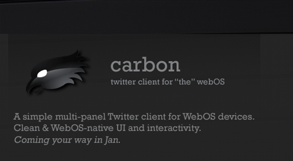 Carbon webOS