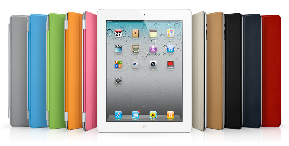 Smart Cover Apple iPad 2 Colors