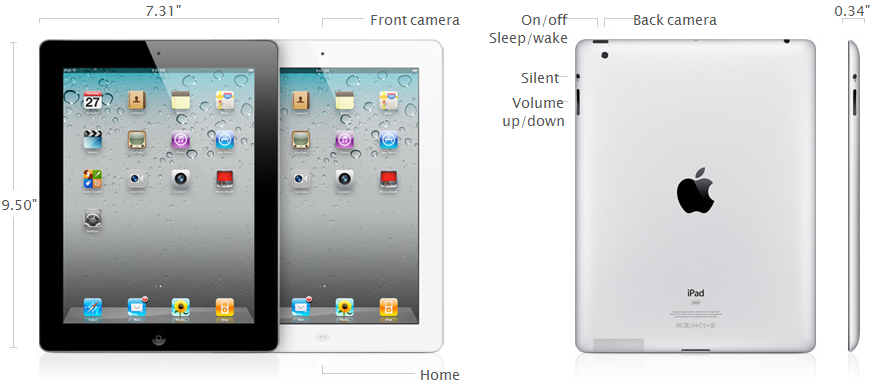 iPad 2 Details