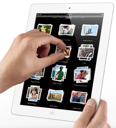 iPad 2 Pinch & Zoom
