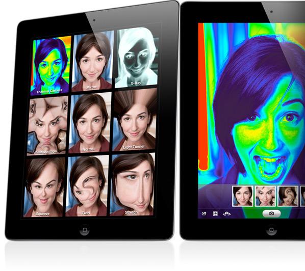 iPad 2 photobooth