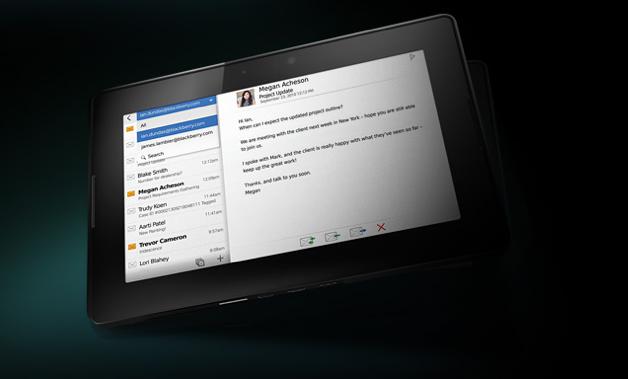 BlackBerry PlayBook Correo