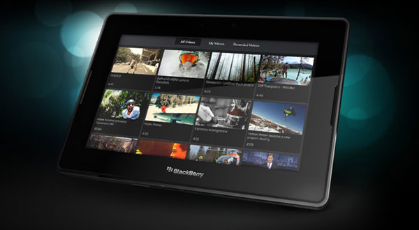 BlackBerry PlayBook Mexico 2011
