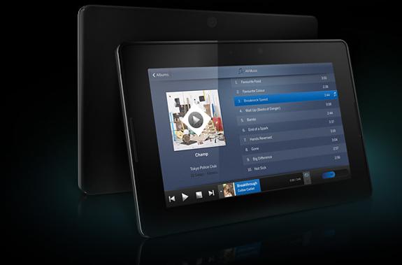 BlackBerry PlayBook Multimedia