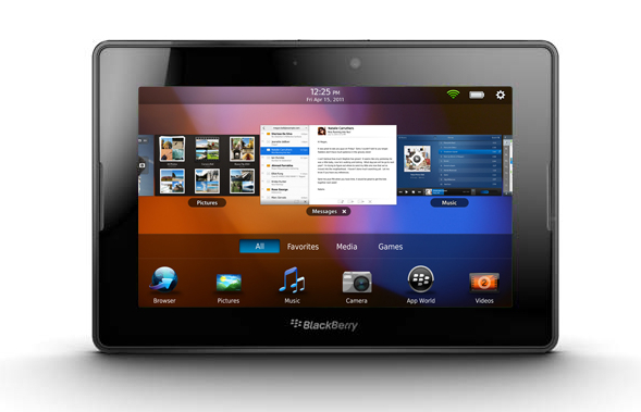 BlackBerry PlayBook con Iusacell