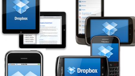 Dropbox en Smartphones