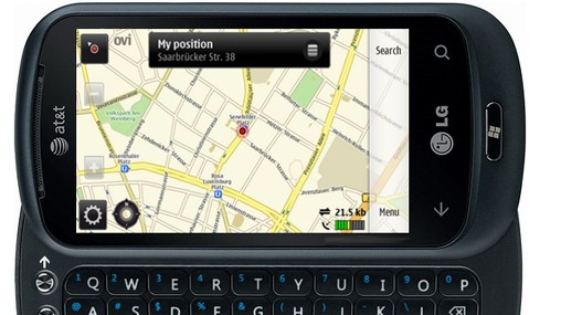 OVI Maps Windows Phone 7 mod