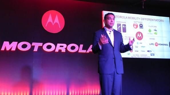 Sanjay Jha Motorola CEO 2011
