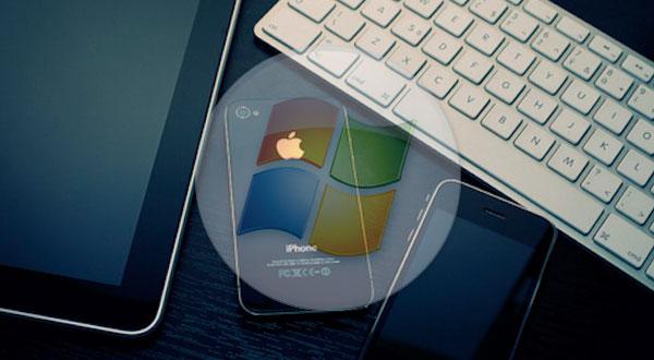 Windows-Mobile-a-iOS