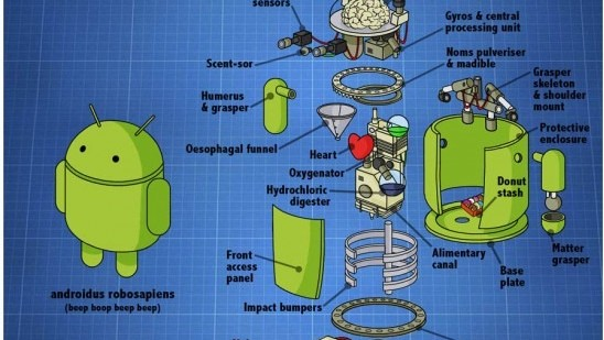 anatomia de Android mod