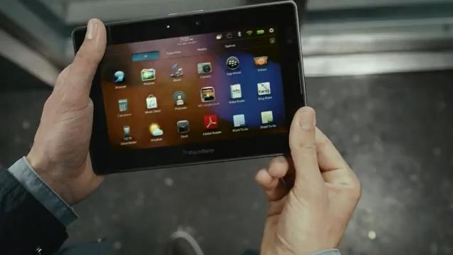 BlackBerry TV Ad Screenshot