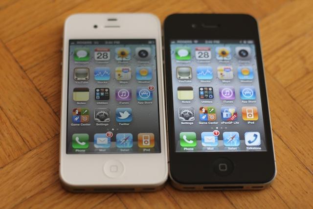 Iphone x blanco vs negro