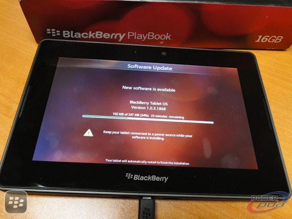 BlackBerry PlayBook Mexico