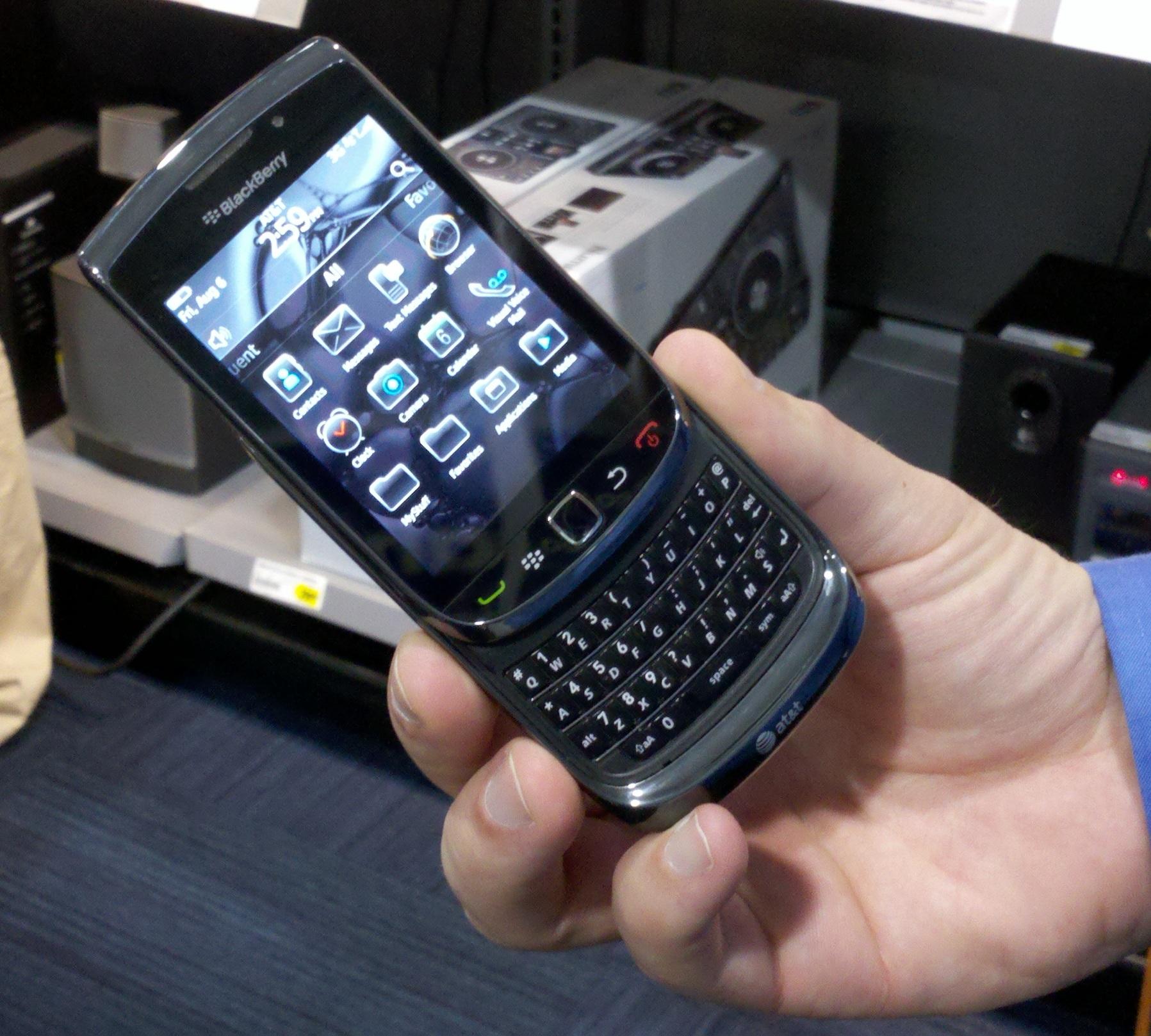 BlackBerry Torch en Iusacell 6
