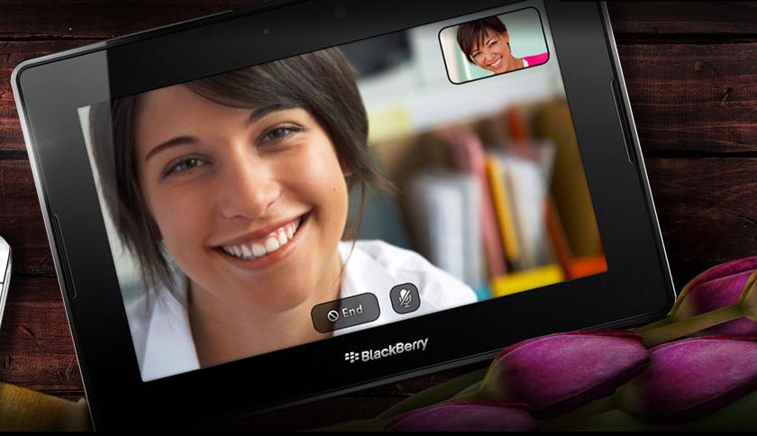 Playbook Videochat