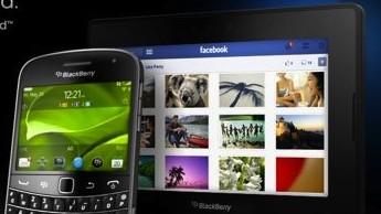 Facebook BlackBerry PlayBook