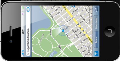 googlemaps en iphone