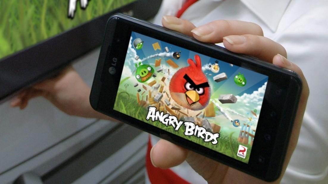 Optimus Angry Birds