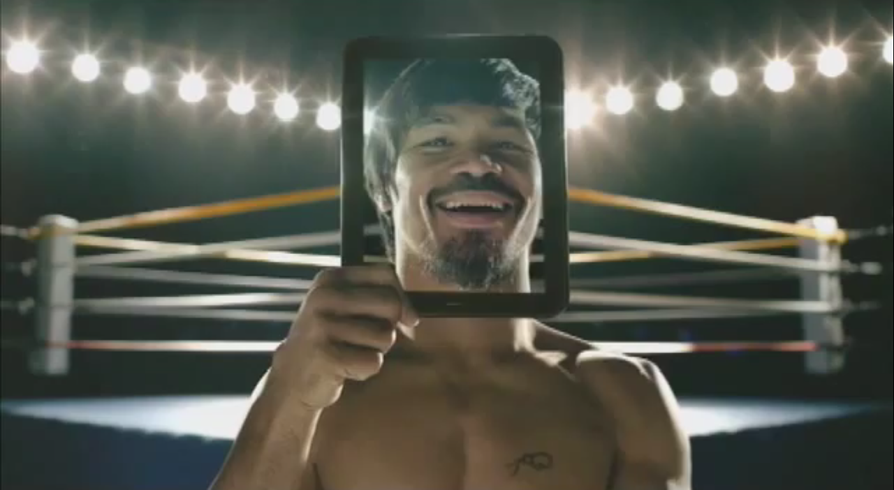 HP TouchPad Manny Pacquiao