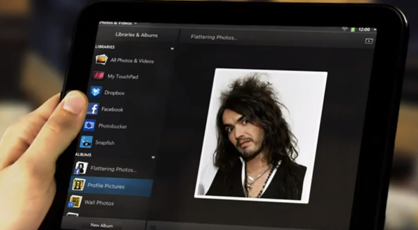 Russell Brand HP TouchPad