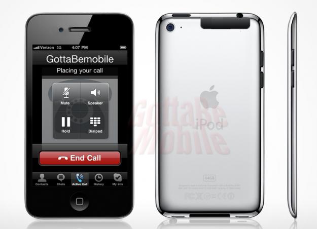 Rumores Sobre Un Ipod Touch Con Conectividad 3g De Datos
