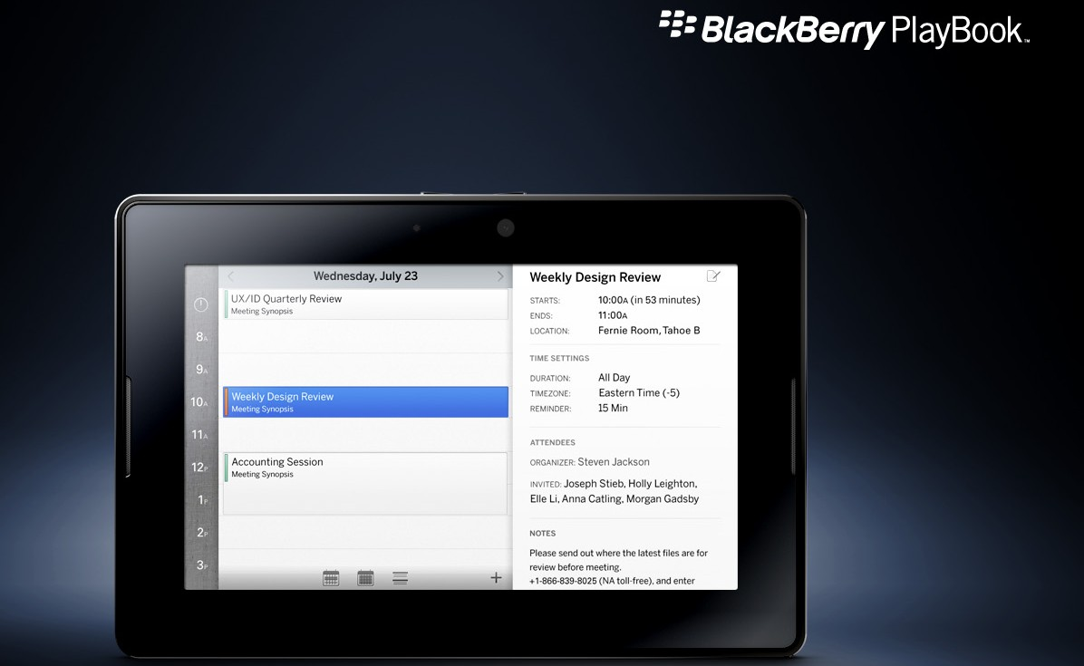 BlackBerry_PlayBook_calendar